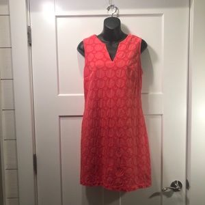 Banana Republic Coral Sheath Dress